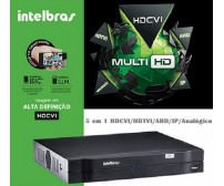 DVR Stand Alone Multi HD Intelbras MHDX-1016 - 16 Canais 1080N HDCVI, HDTVI, AHD, ANALÓGICO + 2 Canais 5Mp IP