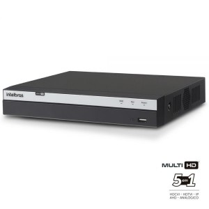 DVR Stand Alone Intelbras MHDX 3016 16 Canais Full HD 1080p Multi HD + 8 Canais IP 5 Mp