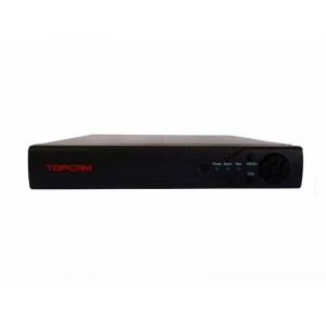 DVR Stand Alone Topcam 16 Ch 1080N Flex 5 em 1 - HD-TVI / HD-CVI / AHD / CVBS / IP