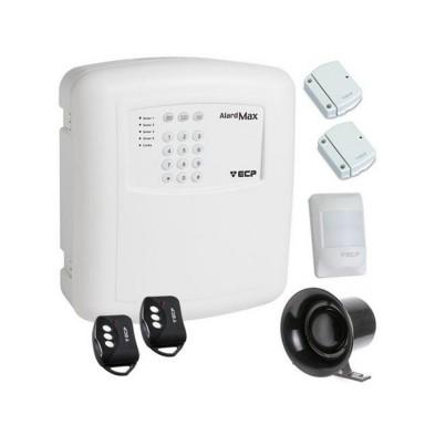 Kit Alarme Residencial 1 zona mista com ou sem fio ECP