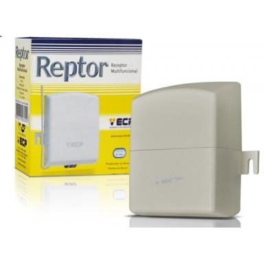 Receptor Multifuncional ECP 2 Canais 433 Mhz Alcance 80 Metros
